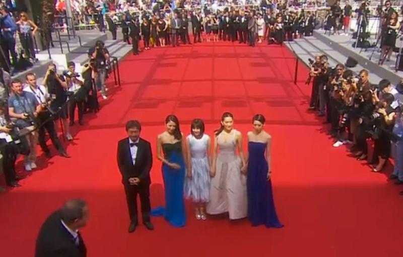 カンヌ映画祭レッドカーペット