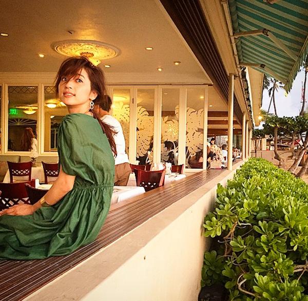 中村アン-ハワイ-Michel's