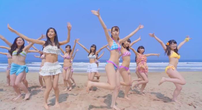 HR-夏色キャンディ-ビーチ-ダンス
