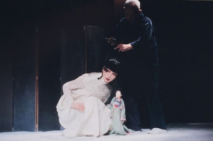 山口小夜子-結城座公演「ペレアスとメリザンド」
