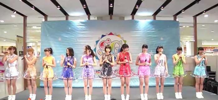 SUPER☆GiRLS-新曲披露