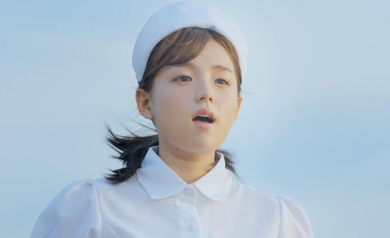 篠崎愛-ナース姿-歌唱-AGAスキンクリニックCM