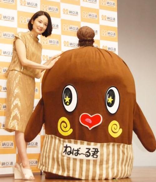 吉田羊-ねばーるくん-納豆クイーン