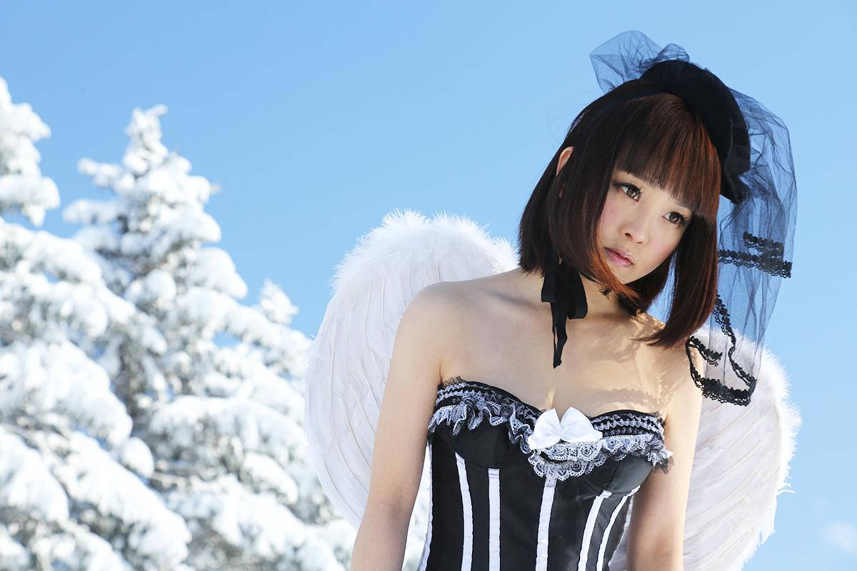 西条美咲-SNOW-KINGDOM-雪-北海道