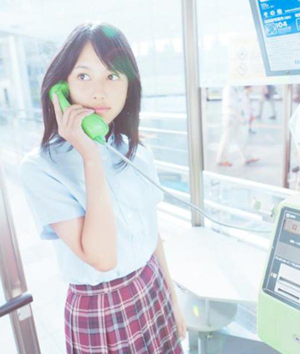 山田沙梨奈-電話ボックス