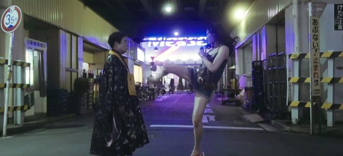 武田梨奈-KOENJI夢の寿命-ハイキック