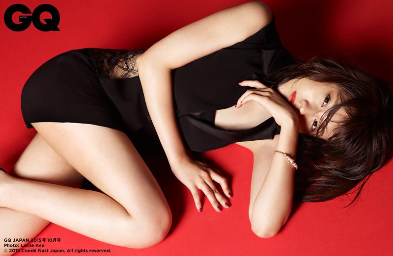 有村架純-GQJAPAN-2015年の美女