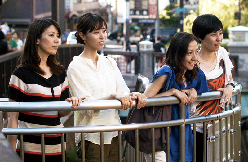 映画「ハッピーアワー」田中幸恵-菊池葉月-三原麻衣子-川村りら