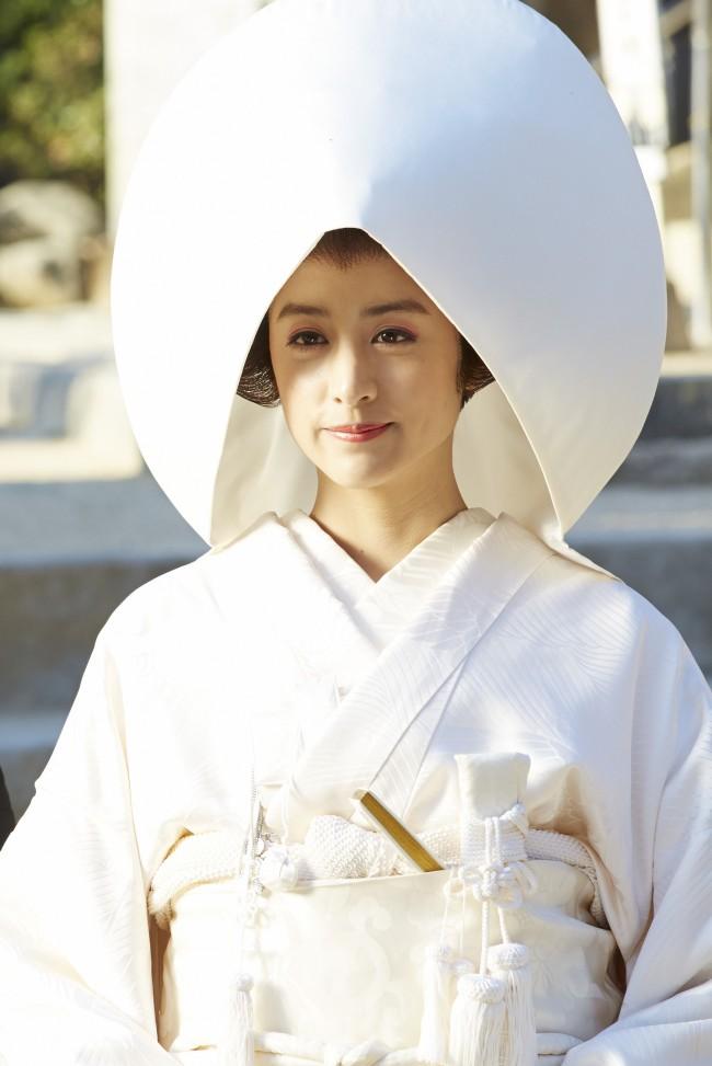 山本美月-白無垢姿-映画