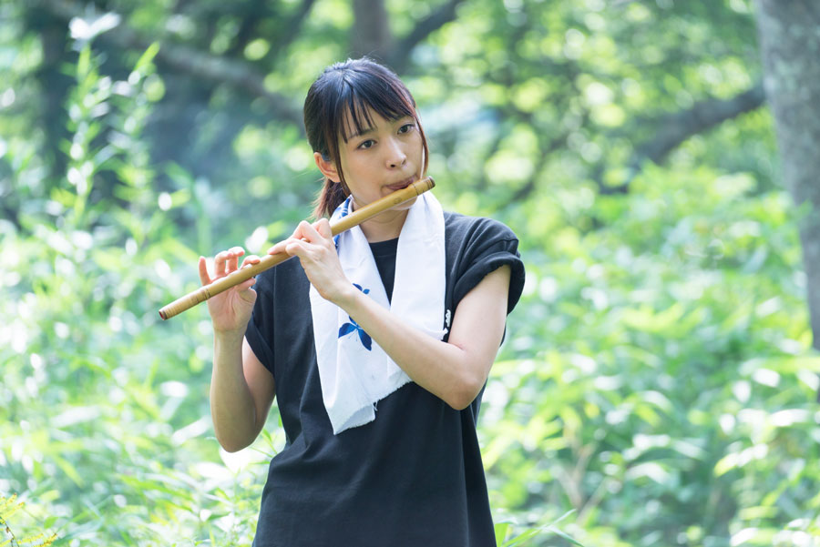 黒川芽以-笛-映画『かぐらめ』