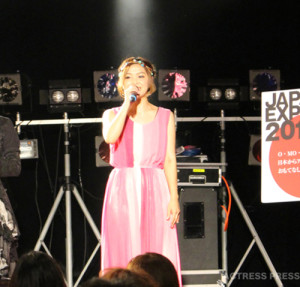 長内映里-JAPAN-EXPO-2015-LOS-ANGELES-キックオフスペシャルライブ