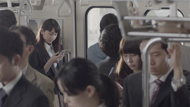 早見あかり、スマホ用「Yahoo!-JAPAN」アプリのテレビCM-朝