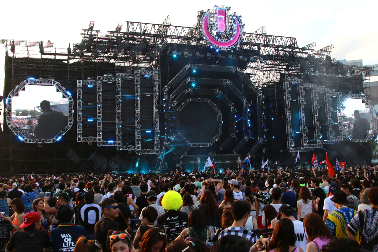 ULTRA JAPAN2015ステージ