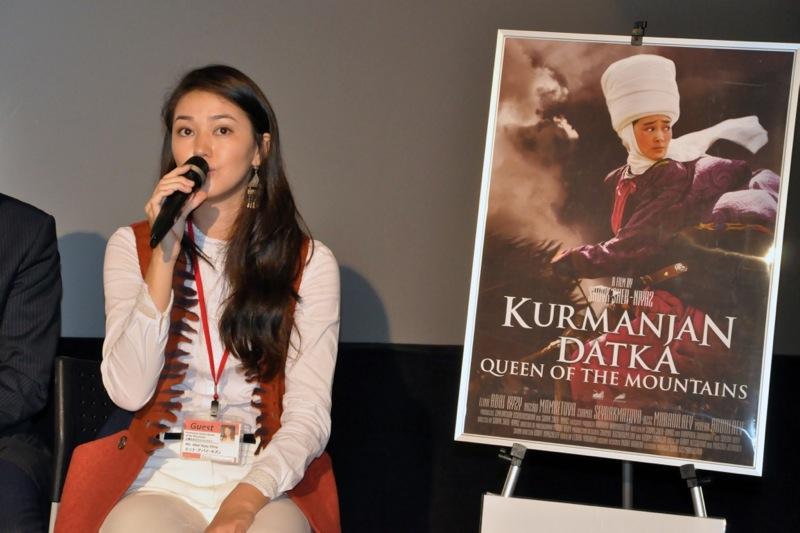 主演女優:エリナ・アバイ・キズィ-『山嶺の女王クルマンジャン』