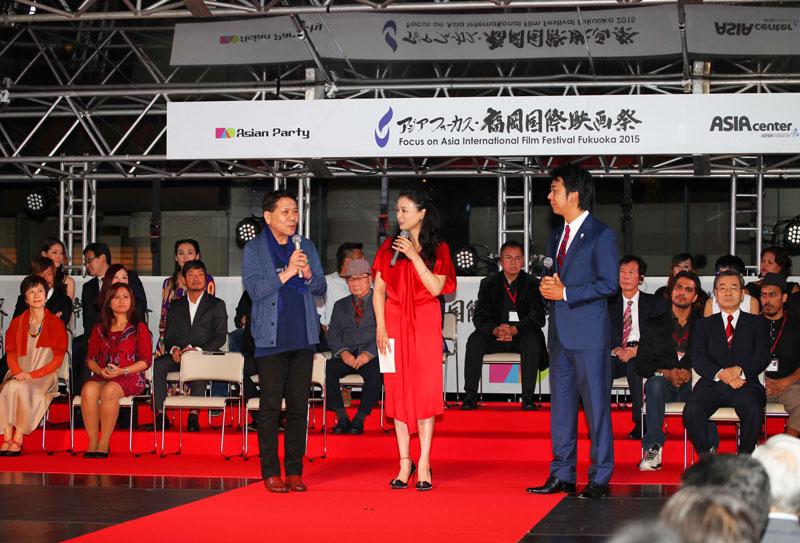 おすぎ-国生さゆり-髙島福岡市長-福岡国際映画祭2015