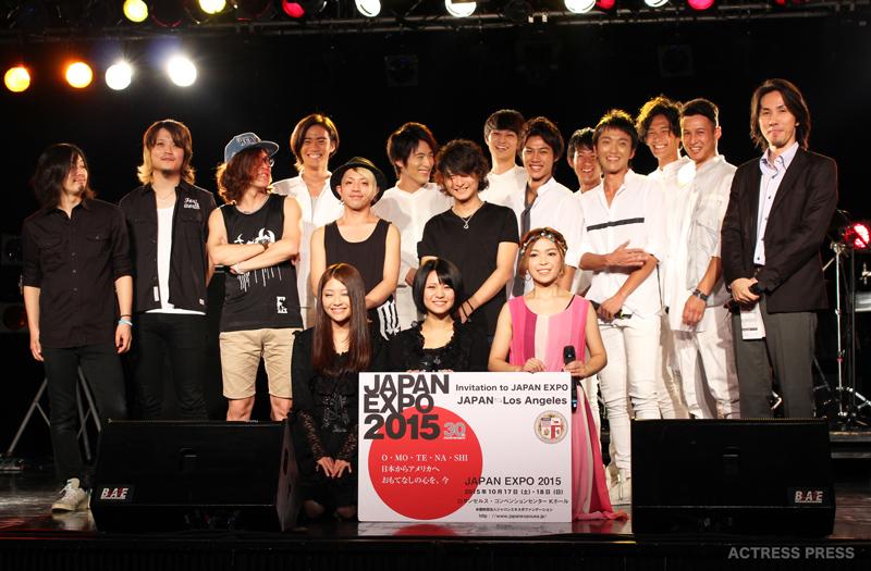 JAPAN-EXPO-2015-LOS-ANGELES-キックオフスペシャルライブ