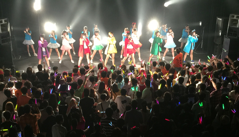 アイドル教室ライブ写真