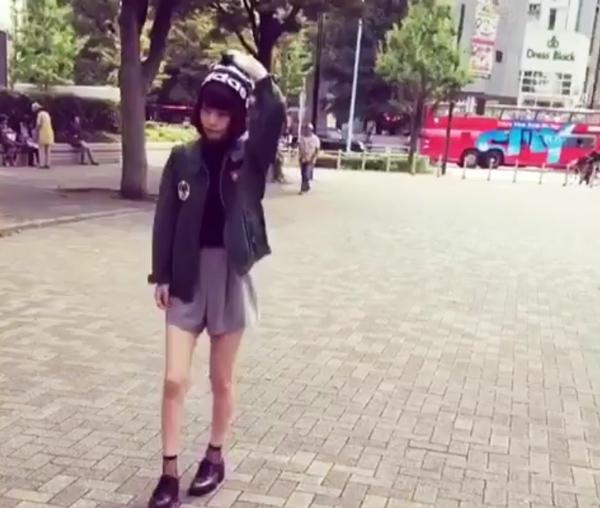 横田ひかる-adidasneo逆再生