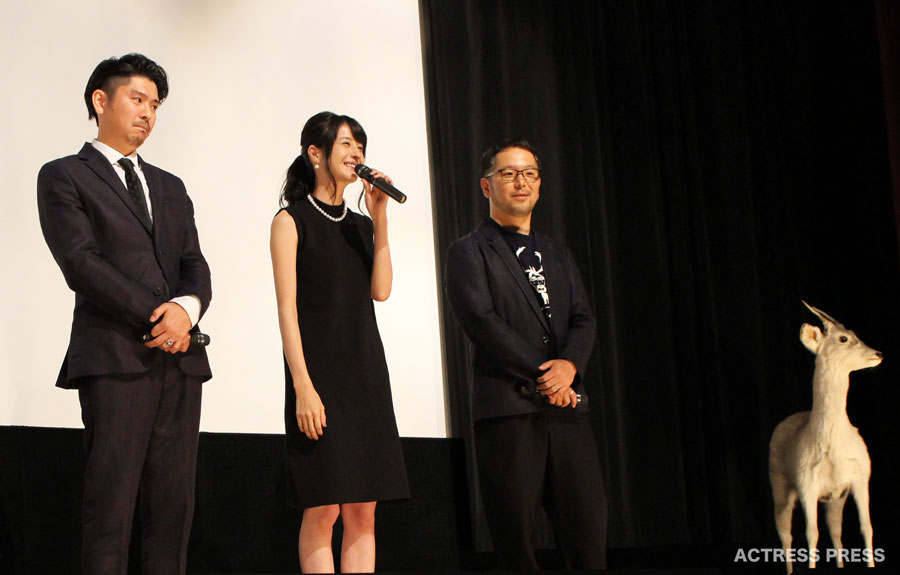 松本若菜-映画ディアーディアー舞台挨拶20151024