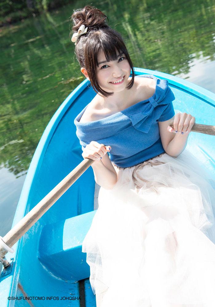 雨宮天ファースト写真集-ソライロ~青と旅する~ボート