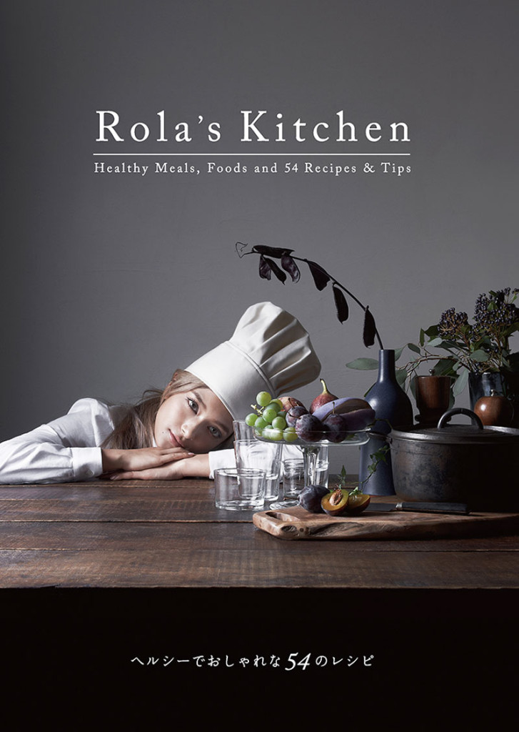 Rola's-Kitchen-ローラのレシピBOOK表紙