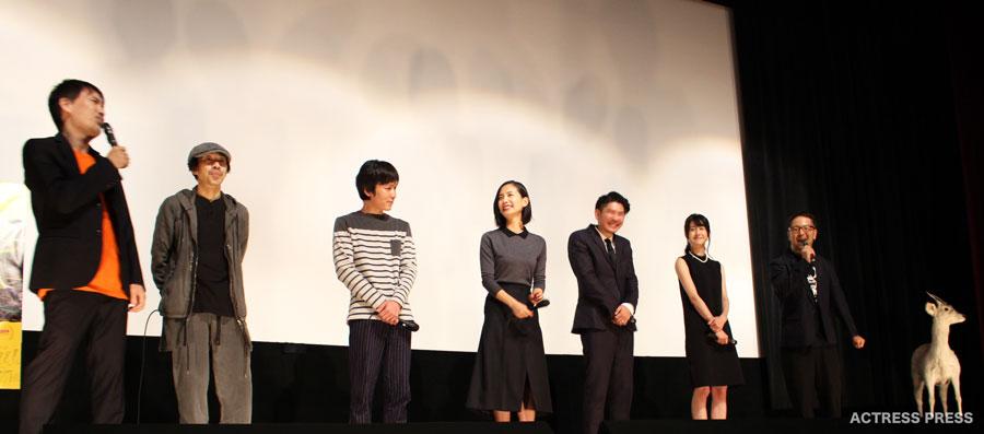 中村ゆり-松本若菜-菊地健雄監督-映画ディアーディアー舞台挨拶20151024