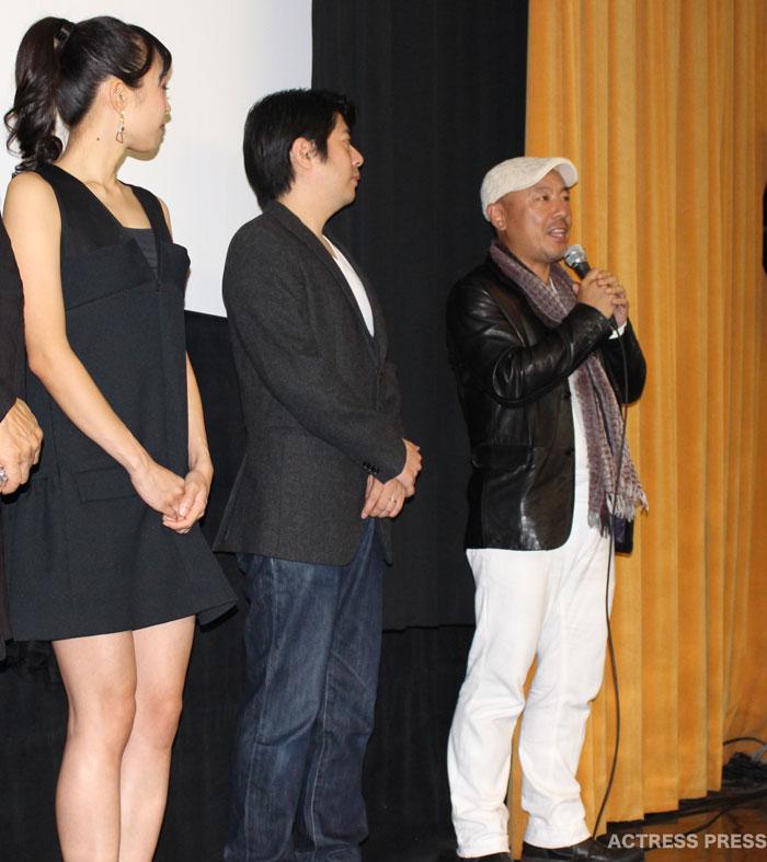 奥秋泰男監督-映画-かぐらめ-舞台挨拶