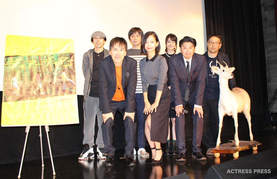 映画ディアーディアー舞台挨拶-中村ゆり-松本若菜
