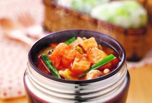 スープジャー☆キムチ鍋
