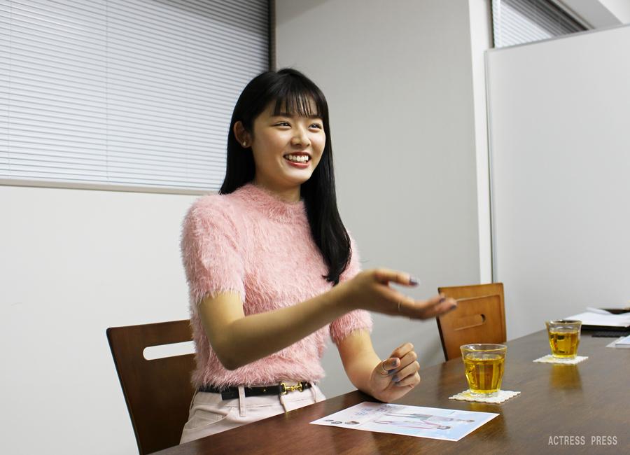 古畑星夏-映画『夏ノ日、君ノ声』インタビュー2