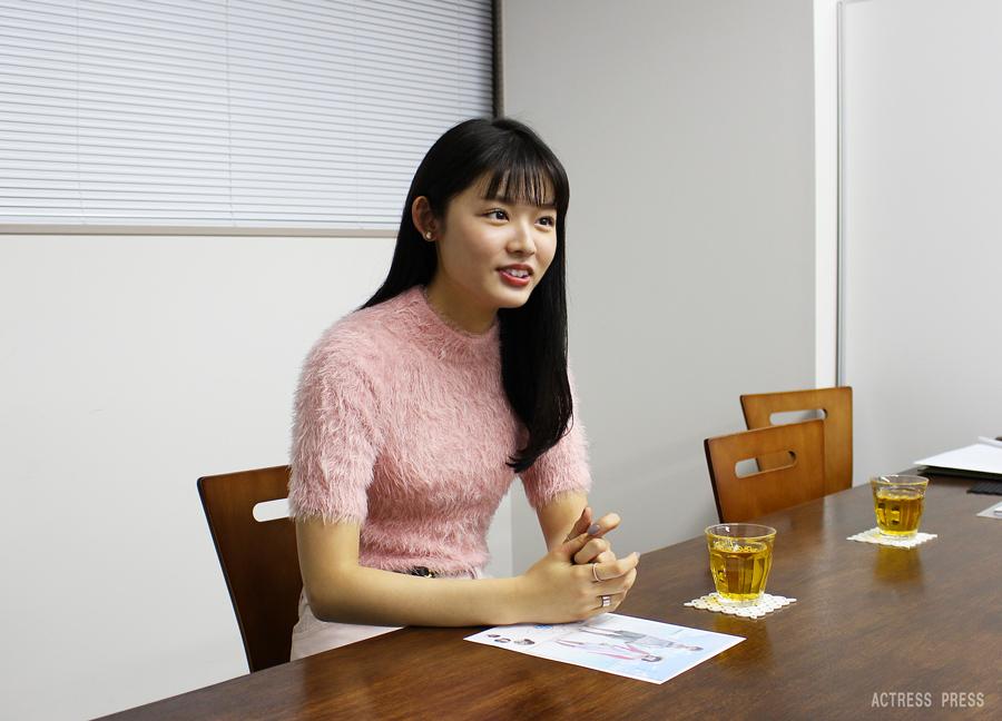 古畑星夏-映画『夏ノ日、君ノ声』インタビュー1