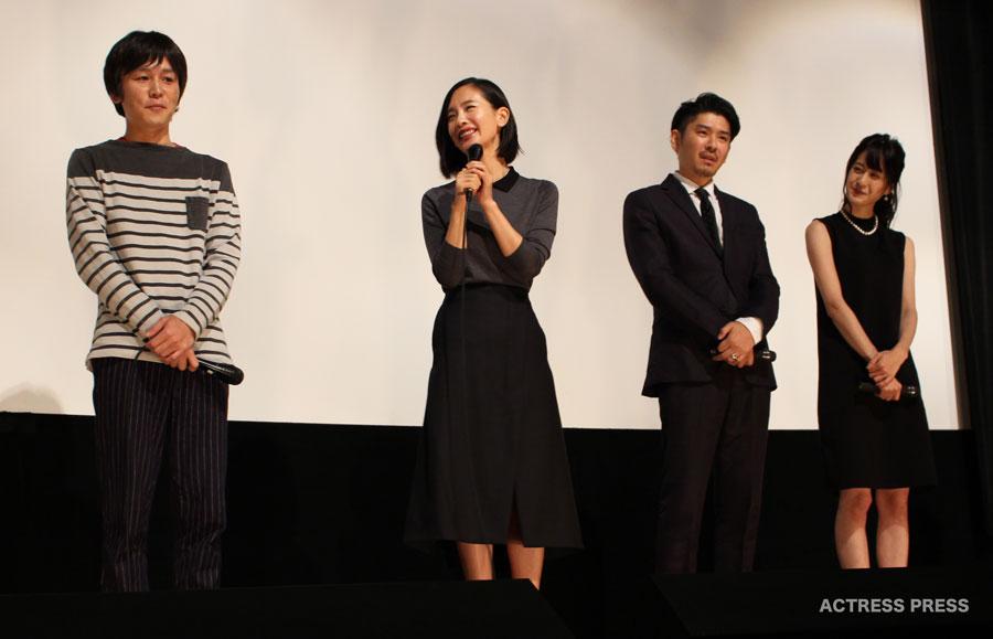 中村ゆり-松本若菜-映画ディアーディアー舞台挨拶20151024