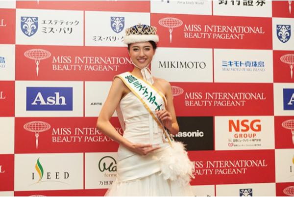 2016ミス・インターナショナル日本代表-山形純菜