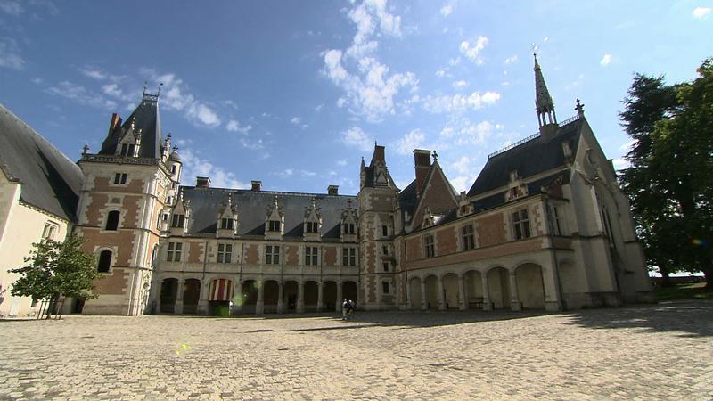 フランス・ロワール地方-古城