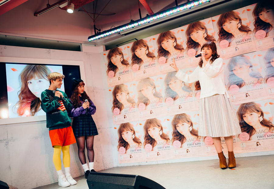MACO-FIRST-KISS発売イベントin原宿