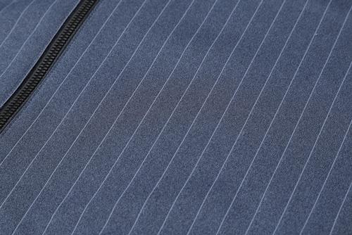 ピンストライプ/ストレッチ杢調素材