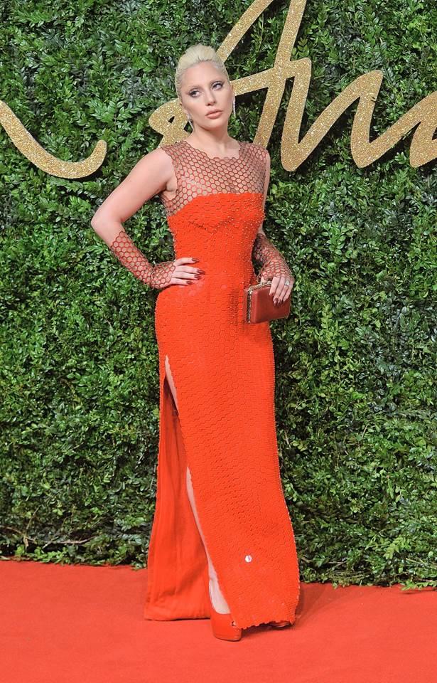 Lady GaGa-britishfashionaward2015