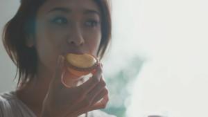 山田優-濃厚焼きチーズタルトCM