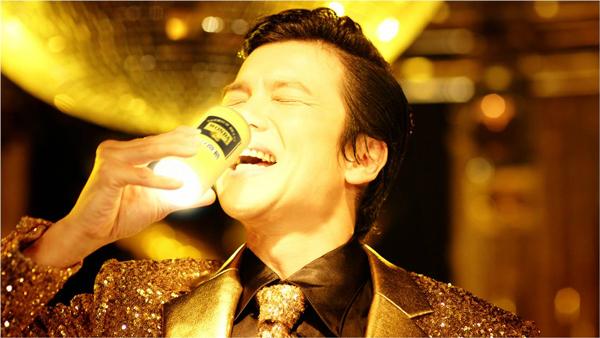 ワンダ金の微糖-男の輝き-TVCM