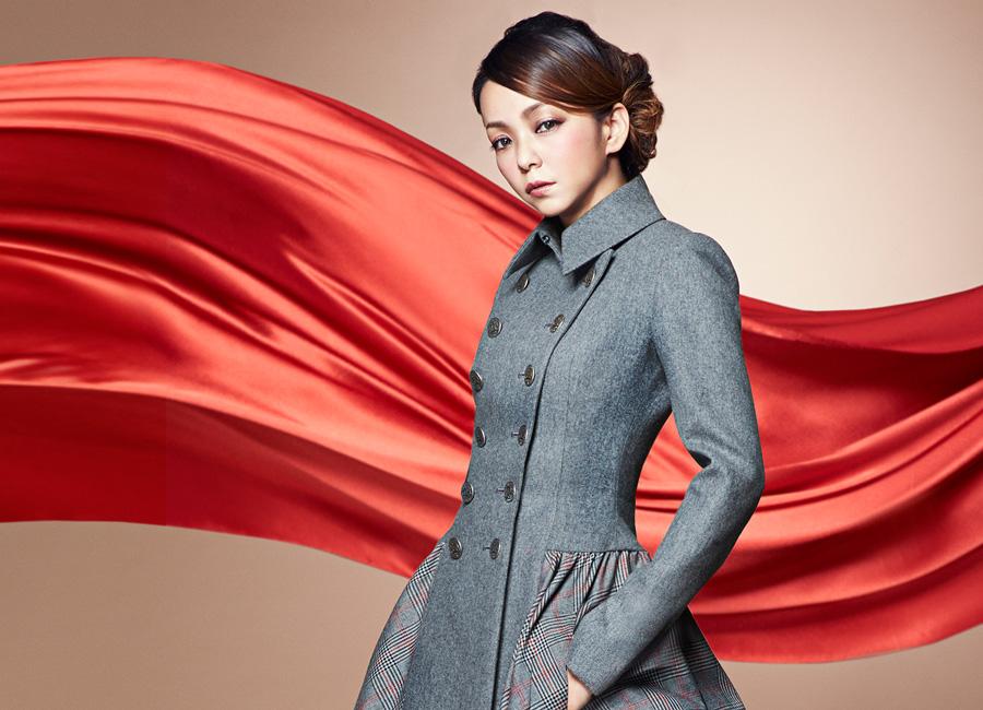 安室奈美恵-Red-Carpet