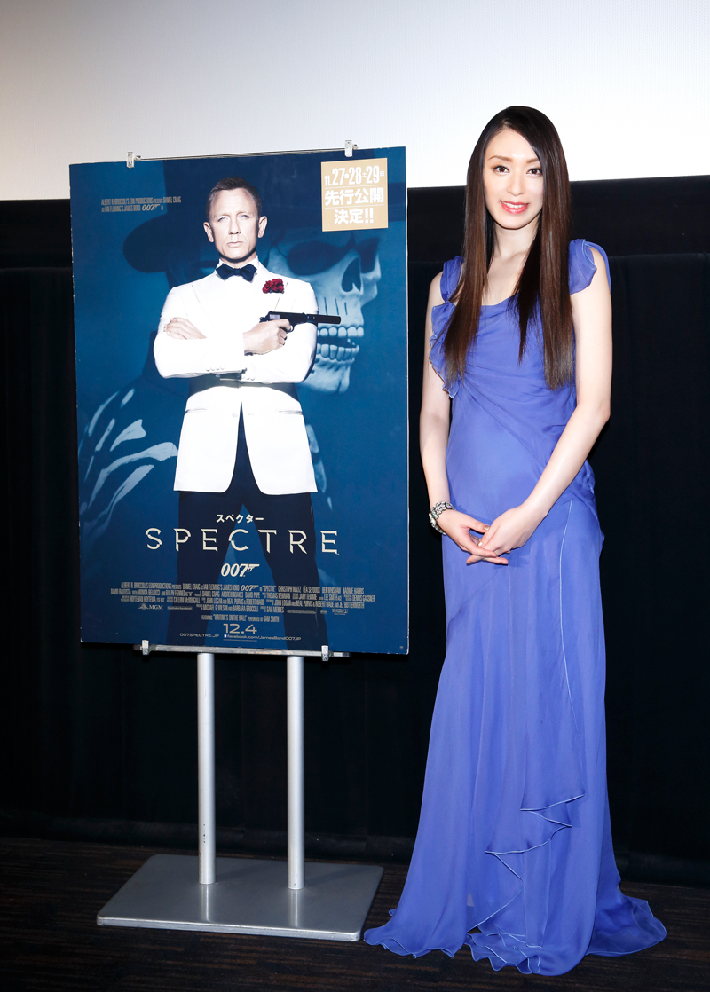 栗山千明-007-スペクター-トークショー付き試写会20151111