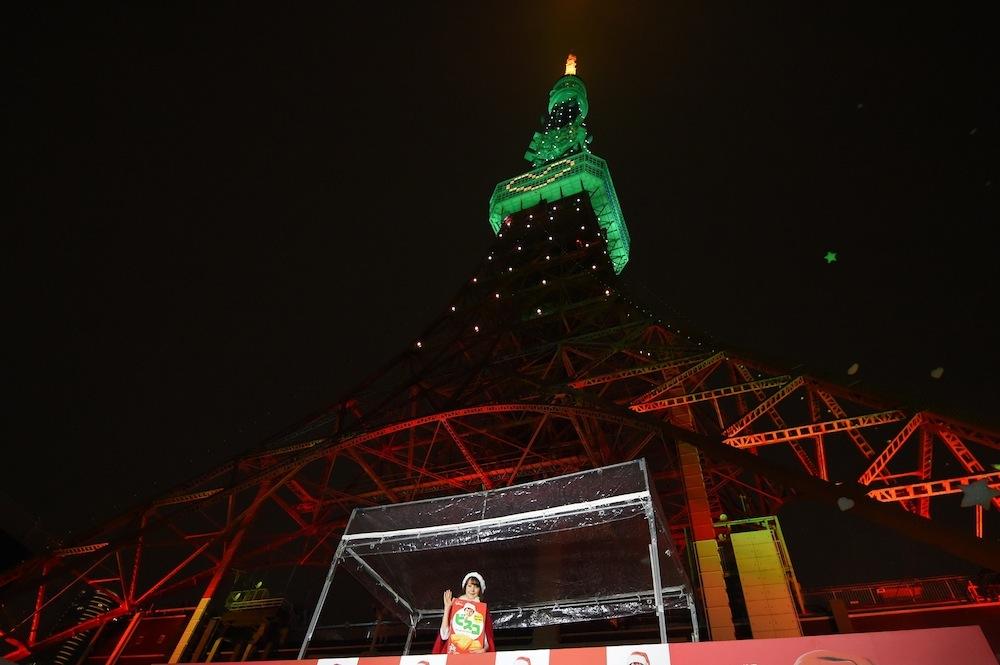 東京タワー-トリンドル玲奈-ビスコツリープロジェクト