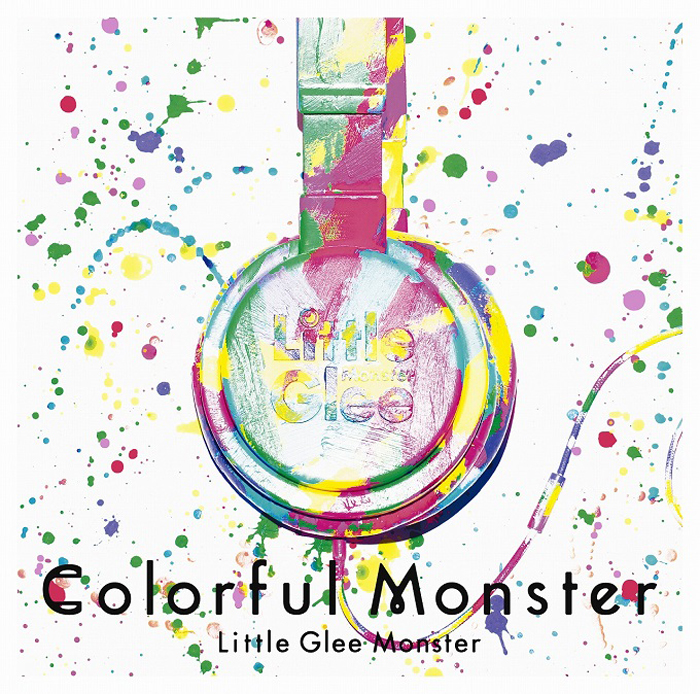 Little-Glee-Monster-Colorful-Monster 通常版ジャケット