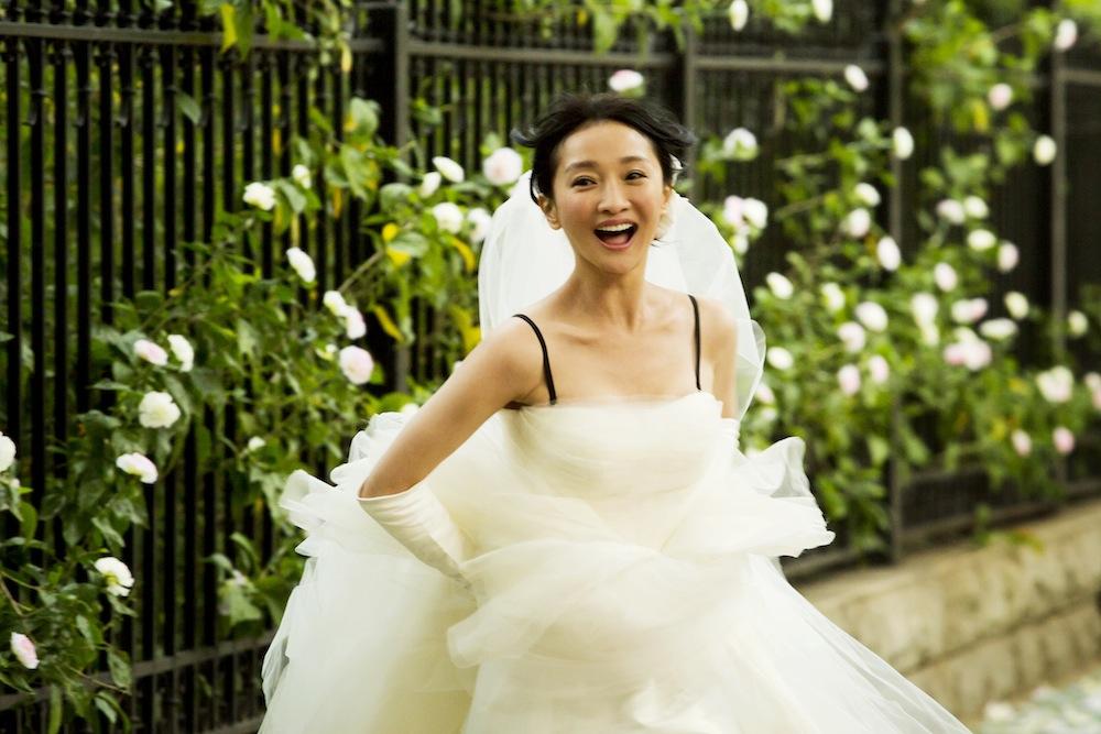 更年奇的な彼女-ジョウ・シュン(周迅)花嫁姿