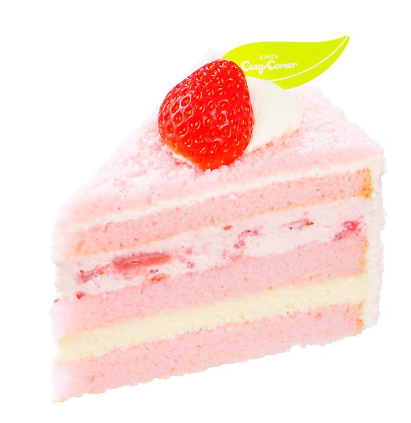 ふんわり苺ショート-銀座コージーコーナー