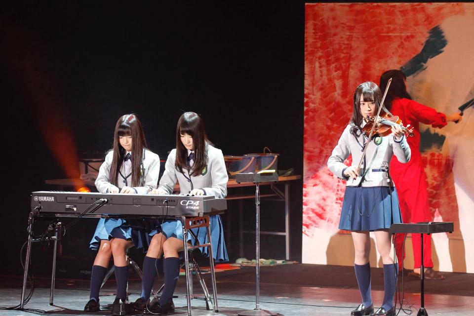 欅坂46 新春!おもてなし会8 楽器演奏