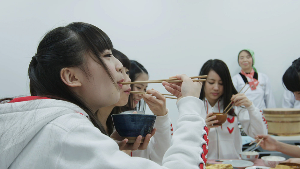 NGT48-新潟米コシヒカリ食事