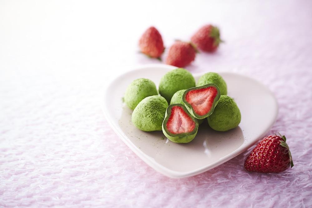 宇治抹茶苺とりゅふ お茶苺さん