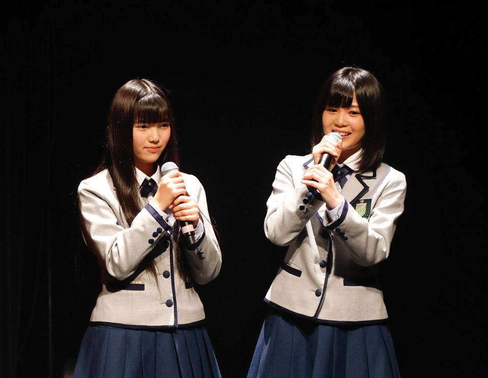 欅坂46 新春!おもてなし会 司会 上村莉菜 尾関梨香