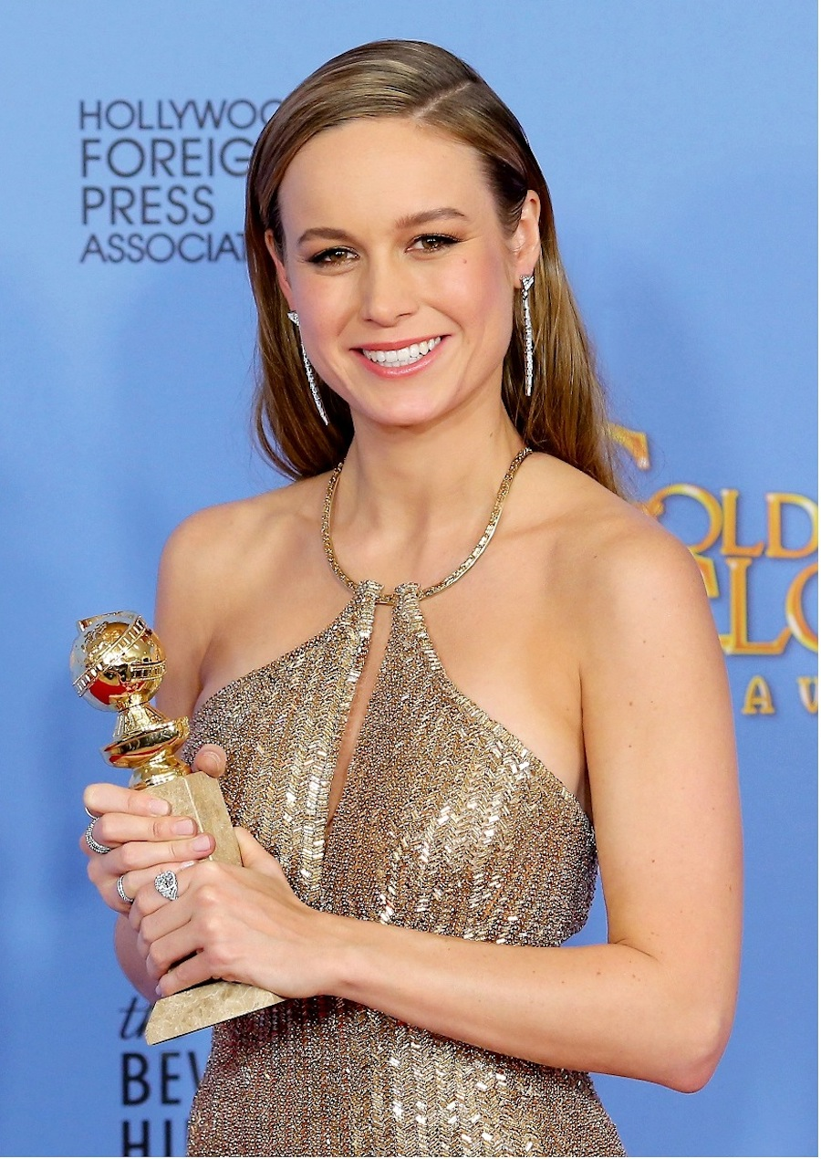 Brie Larson(ブリー・ラーソン) ゴールデン・グローブ賞